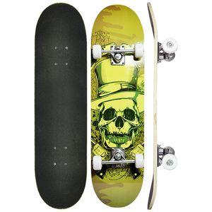 Skate-Caveira-Amarela