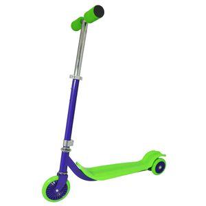 Patinete-Surf-3-rodas-Verde-e-Roxo