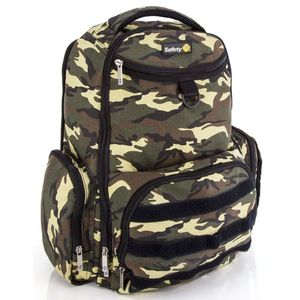 Mochila-Back-Pack-Delta-Safety-1st-Green-Army
