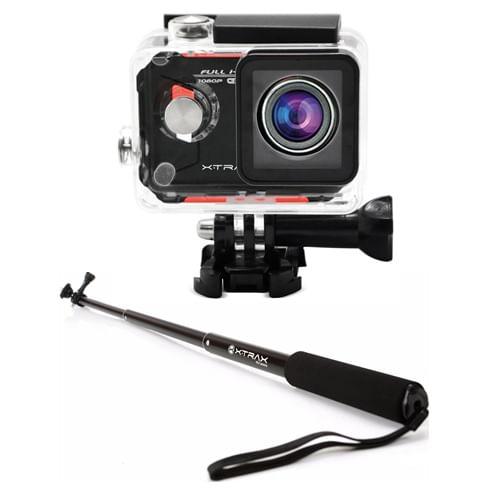 Kit-Camera-de-Acao-Evo-Full-HD-12MP---Bastao-Retratil