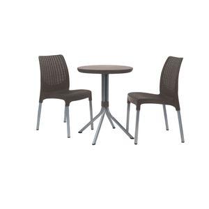 Mesa-com-2-Cadeiras-Chelsea-Patio-Set-Keter-Marrom