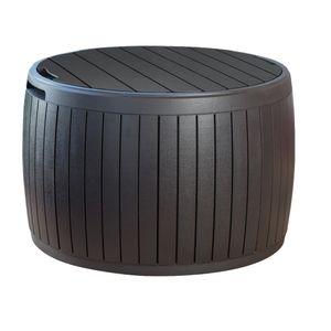 Bau-Circa-Wood-Box-Keter-Marrom