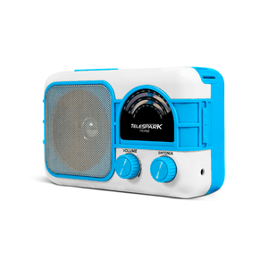 Radio-Retro-com-Bateria-Bluetooth-AM-FM-Azul-