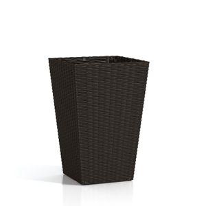 Vaso-Rattan-Style-Planter-L-Keter-Marrom