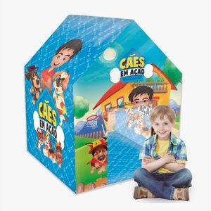 Brinquedo-Barraca-com-Cano-Caes-em-Acao