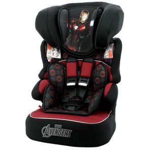 Assento-de-Elevacao-9-a-36Kg-Marvel-Beline-Luxe-Homem-de-Ferro-Preto-e-Vermelho