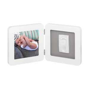 Porta-Retrato-de-Madeira-Com-Molde-Simples-Baby-Art-White---Grey