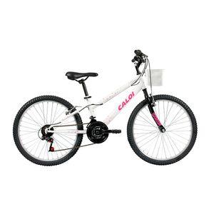 Bicicleta-Infanto-Juvenil-Caloi-Ceci-Aro-24---21-Velocidades---Branco