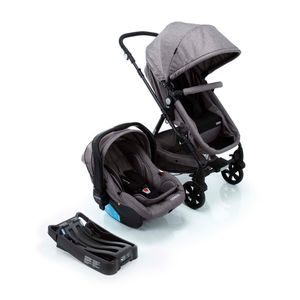 Travel-System-Poppy-Trio-Cosco---Cinza-Mescla