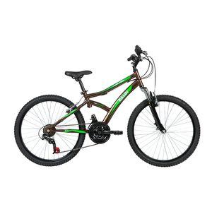 Bicicleta-Lazer-Caloi-Alpes-Aro-24---Susp-Dianteira---21-Velocidades---Marrom-metalico