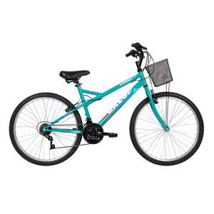 Bicicleta-Lazer-Caloi-Florenca-Aro-26---com-Cesto-Freio-V-Brake--21-Velocidades---Verde