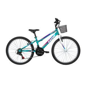 Bicicleta-Lazer-Caloi-Florenca-Aro-24---com-Cesto-Freio-V-Brake--21-Velocidades---Verde