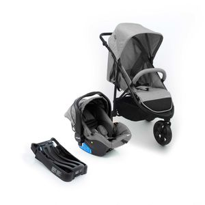 Travel-System-Collina-Trio-Infanti---Grey-Style