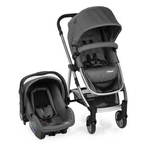 Travel-System-Epic-Lite-Duo-Infanti-Grey-Classic