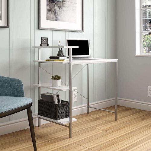 Mesa-para-Computador-Side-Storage-Desk-Cosco-Home---Branco-e-Cinza